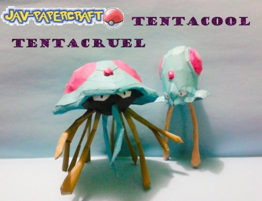 the_tentacool_tentacruel_papercraft_by_javierini