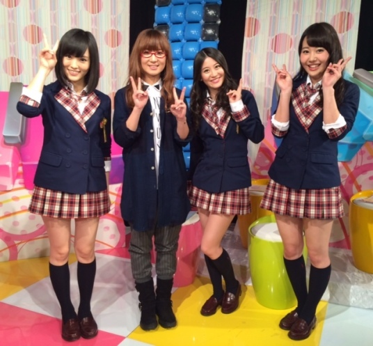 Hanako Oku with NMB48
