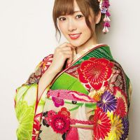 Kimonos on Monday: Dreaming of summer again with Mai Shiraishi of the Nogizaka 46.